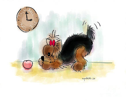 Ball Time by Catia Lee