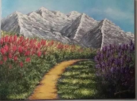 Ballade en montagne by Jessica Fleurentin