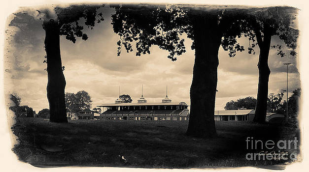 Ballarat Views - City Oval Grandstand by Chris Armytage
