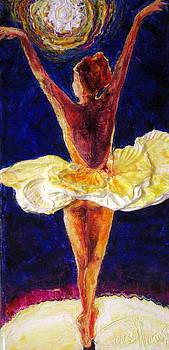 Ballerina Dancing III by Paris Wyatt Llanso