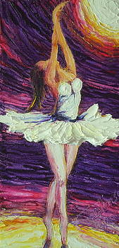 Ballerina Dancing by Paris Wyatt Llanso