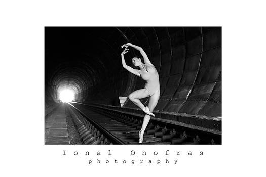 Ballerina girl 6 by Ionel Onofras
