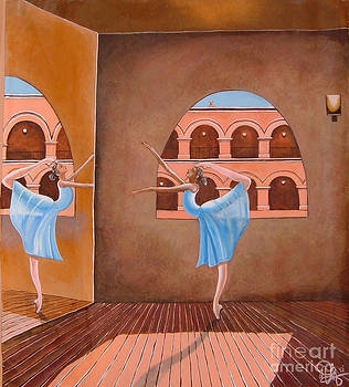 Ballerina in Jewelry box by Annette Jimerson