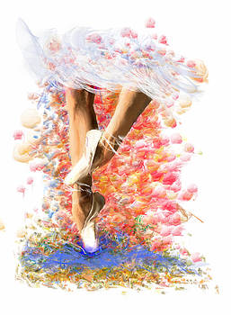 Ballerina in Motion by Angela A Stanton