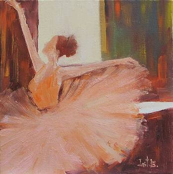 Ballerina In Practice by Irit Bourla