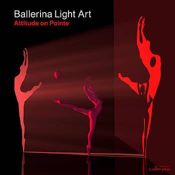 Andre Price - Ballerina Light Art - Red
