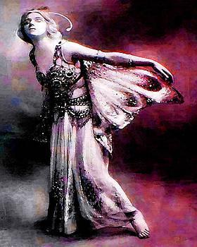 Mary Clanahan - Ballerina Pink Dance Portrait Art