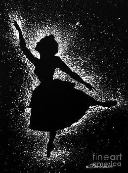 Ballerina Silhouette by Barbara Pelizzoli