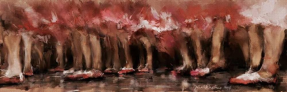 Ballerinas by Gilberto De Martino