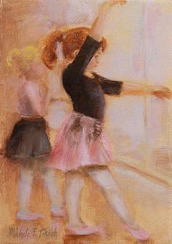 Ballerinas in Training by Michele Tokach
