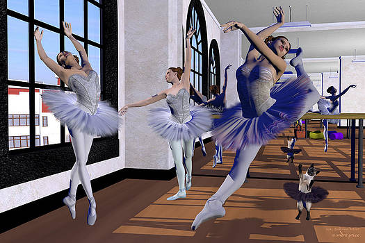 Ballet Dance Studio by Alfred Price