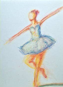 Ballet Dancer by Kristye Addison Dudley
