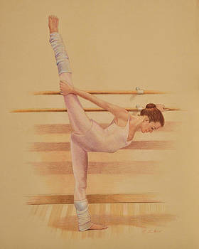 Phyllis Tarlow - Balllet Dancer In Extension