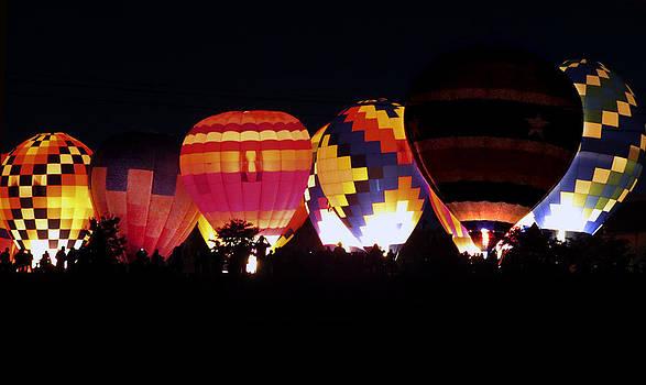 Balloon Festival by Linda A Waterhouse