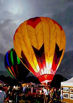 Balloon Glow by Ron Chambers