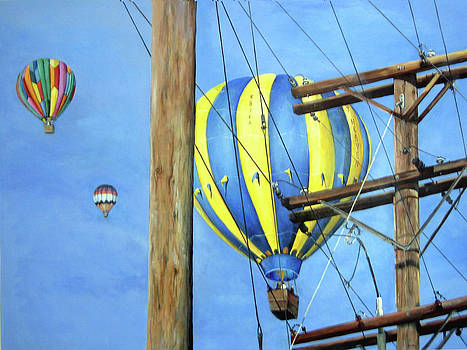 Balloon Race by Donna Tucker