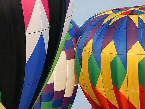 Balloons Waiting to Take Off by Mason Resnick