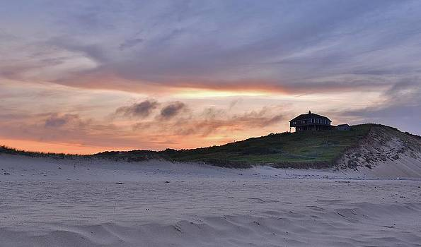 Ballston Beach Sunset by Lisa Kane