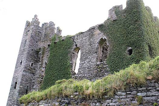 Ballycarbery Castle by Carrie Todd