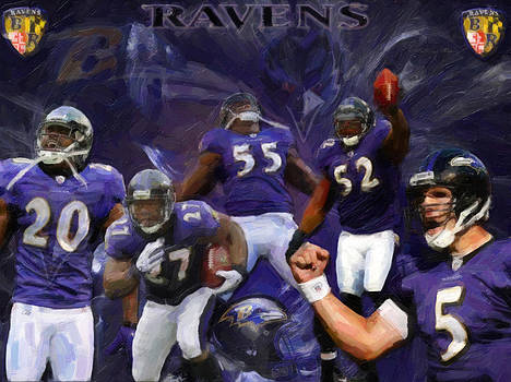 Baltimore Ravens by Alonzo Butler
