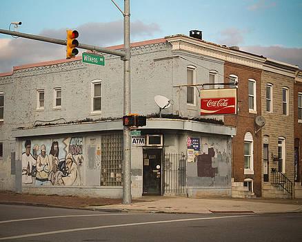 Baltimore Street Corner by Stephen Evans