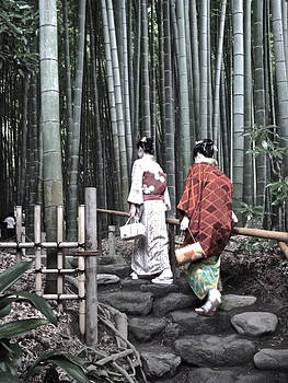 Larry Knipfing - Bamboo Grove and Kimono
