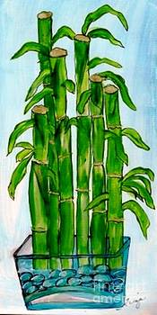 Bamboo On The Rocks by Ecinja Art Works
