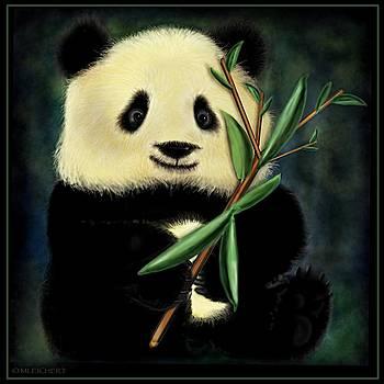 Bamboo Panda by Mary Eichert