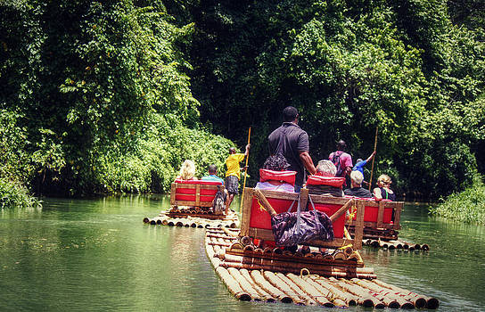 Bamboo River Rafting by Melanie Lankford Photography