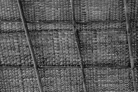 Kantilal Patel - Bamboo shack roof weave