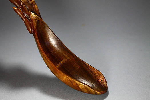 Bamboo Spoon 3 by Abram Barrett