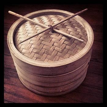 Bamboo Steamer with Natural Chop Sticks - Darken by Brett Smith
