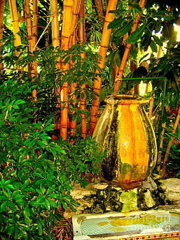 Bamboo with Vase by Shannon Enete