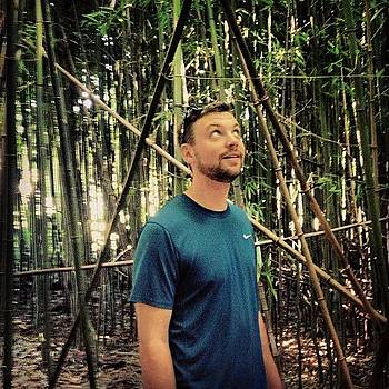 #bambooforest #triangles #myboyfriend by Megan Rudman