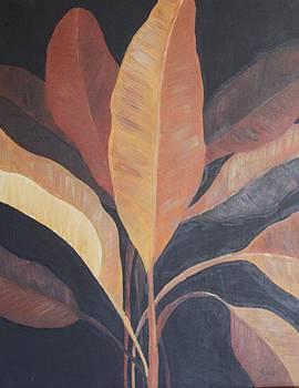 Banana leaves by Silvia Lemos