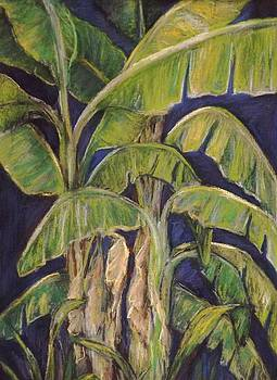 Bananas in Blue by Tricia Mcdonald