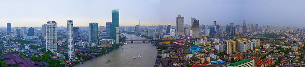 Bangkok panorama by Suphakit Wongsanit