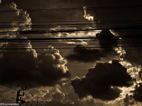 Bangkok sky by Kornrawiee Miu Miu