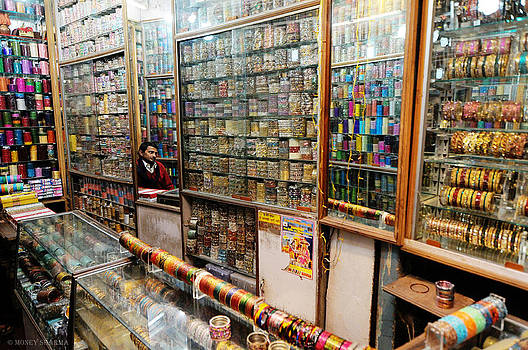 Bangle Seller by Money Sharma