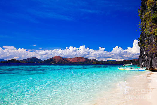 Fototrav Print - Banol beach in Coron Philippines