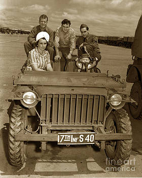 California Views Mr Pat Hathaway Archives - Bantam Jeep 17th Infantry Fort Ord Army Base 1950