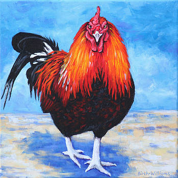 Bantam Rooster by Penny Birch-Williams