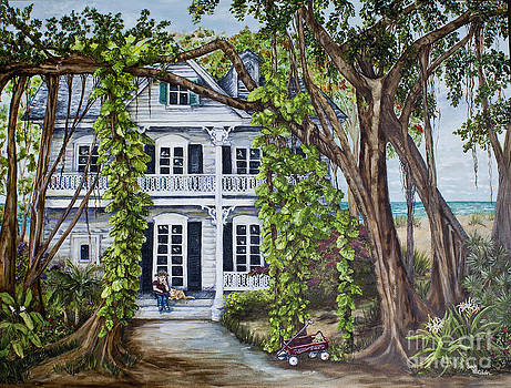 Banyan Beach House by Janis Lee Colon