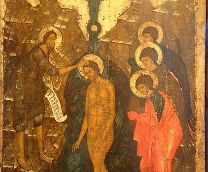 Baptism of Jesus by Lal Rodawla