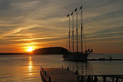 Bar Harbor Sunrise #2 by Thomas Rehkamp