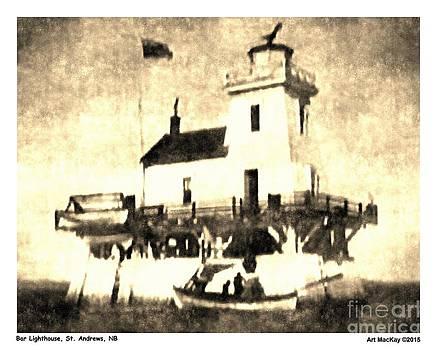 Art  MacKay - Bar Lighthouse St. Andrews NB