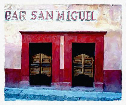 Bar San Miguel by Britton Britt Cagle