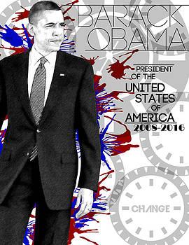 Barack Obama by Anibal Diaz