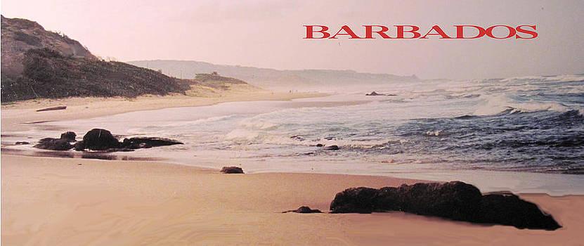Ian  MacDonald - Barbados Bathsheba Poster