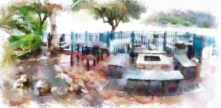 Yury Malkov - Barbeque PLace at Lamma Island Beach